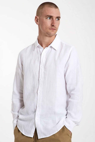 Mr_Simple_100%_Linen_Long_Sleeve_Shirt_White