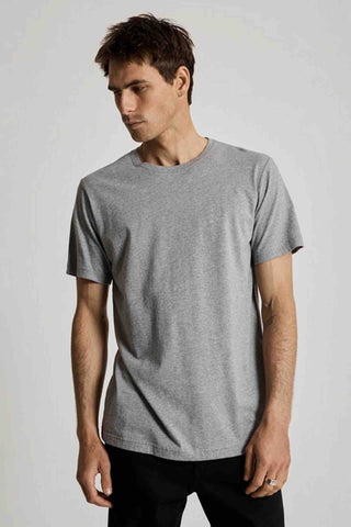 Mr_Simple_Reginald_Tee_Grey_Marle_100%_Organic_Cotton_Basic_T-shirt