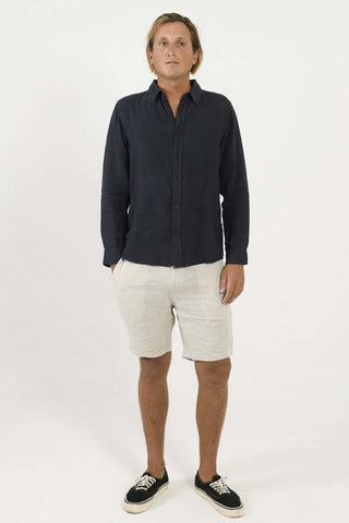 Mr_Simple_Tanner_100%_Linen_Short_Natural_Mens_Summer_Shorts