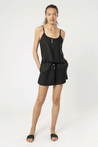Nude_Lucy_Linen_Lounge_Short_Black