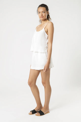 Nude_Lucy_Linen_Lounge_Short_White