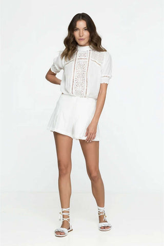 Caliente Blouse - Off White