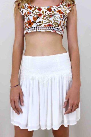 Palma_Australia_Heart_Of_Glass_Mini_Skirt_Off_White