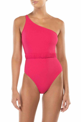Peony_Swimwear_Fuchsia_Once_Shoulder_One_Piece_Recycled_Fabrics_Sustainable_Fashion_Swim