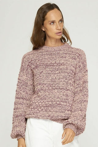 Rue_Stiic_Morro_Knit_Dark_Purple_Sand_Mix_Knitwear