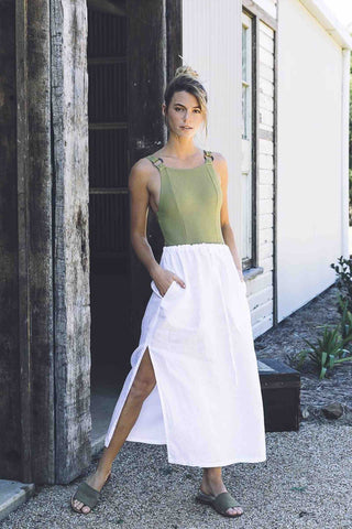Sahana_Maya_Skirt_White