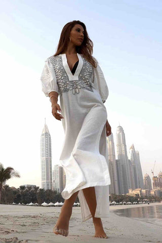 Scarlett_Poppies_Udaipur_Embroidered_Long_Kaftan_Dress_White