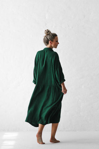 Seaside_Tones_Oversized_Linen_Dress_Green