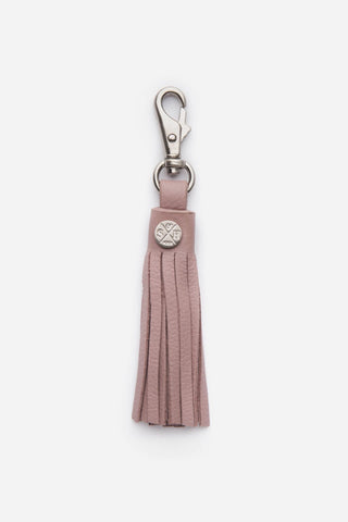 Stitch_&_Hide_Leather_Tassel_Key_Ring_Dusty_Rose_Pink