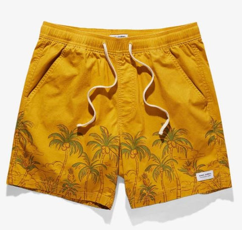 Greenery Boardshort Gold