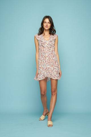 Josie Mini Dress Wild Flower
