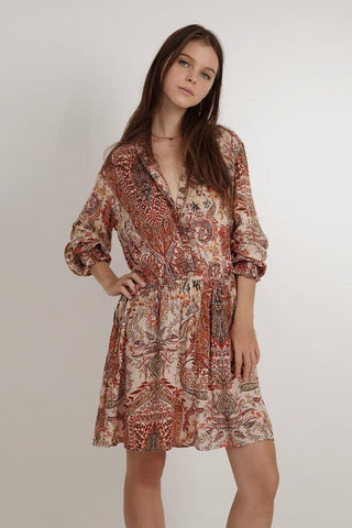 Juliana Dress - Paisley