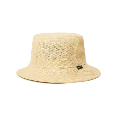 Hardy Straw Bucket Hat Tan
