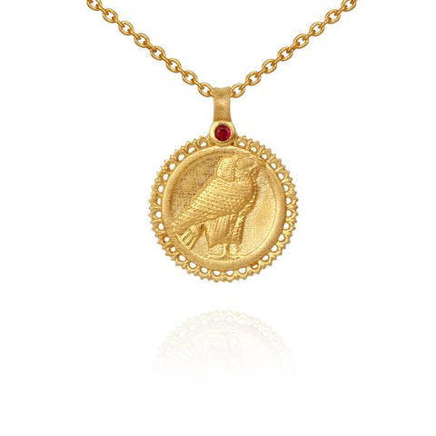 Horus Necklace Gold