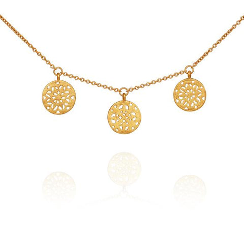 Hettie Necklace - Gold
