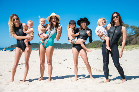 BYRON'S SURFING MAMAS