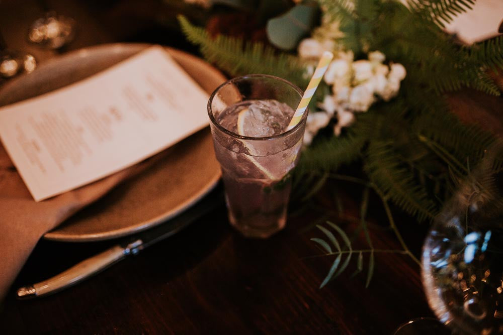 Ginger Tom Collins by Ink Gin