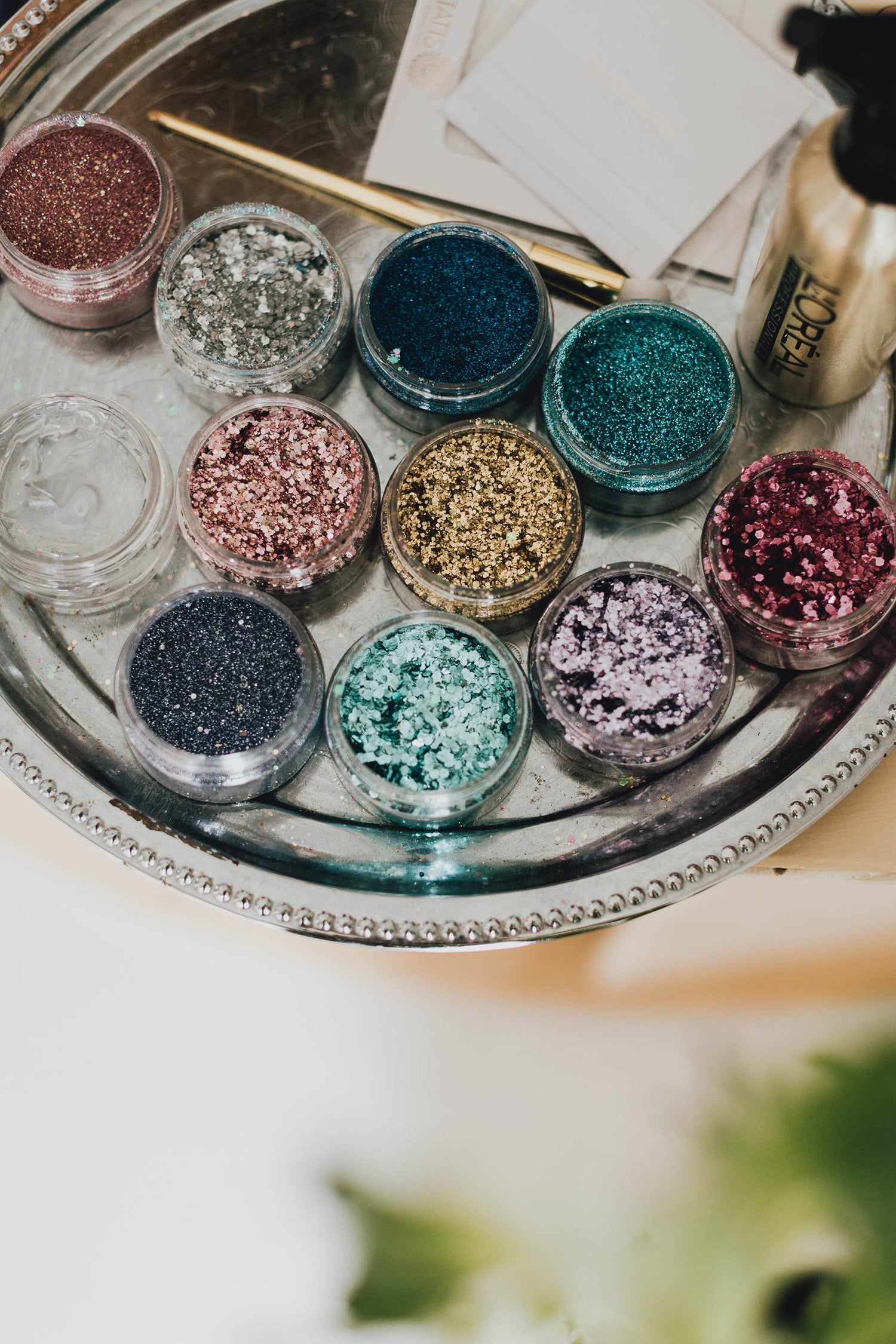 Bio-degradable glitter by Glo Tatts