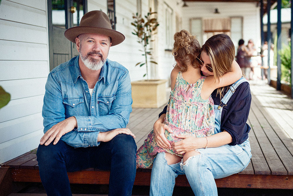 Pat from Grinspoon with his family