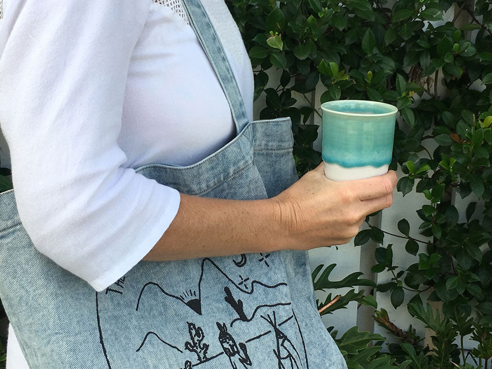 Keep cups by Pottery for the Planet