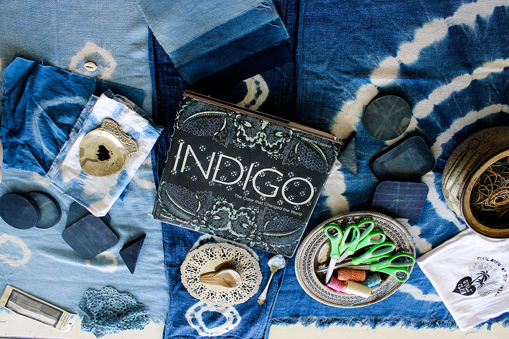 Indigo Workshop at the COTT Girls Club