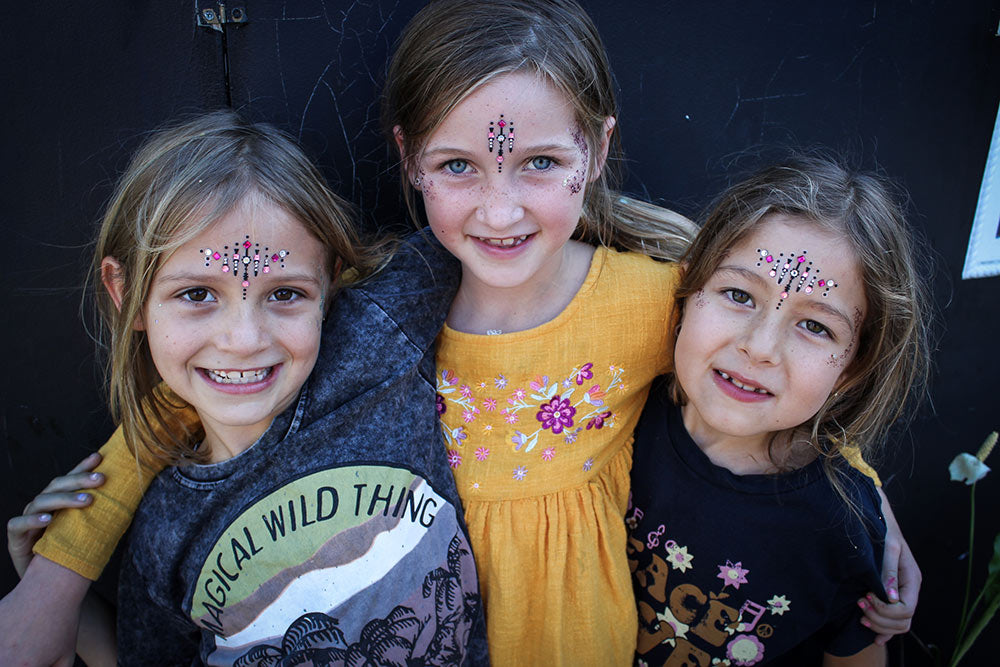 Girls wear Children of the Tribe at the COTT Girls Club