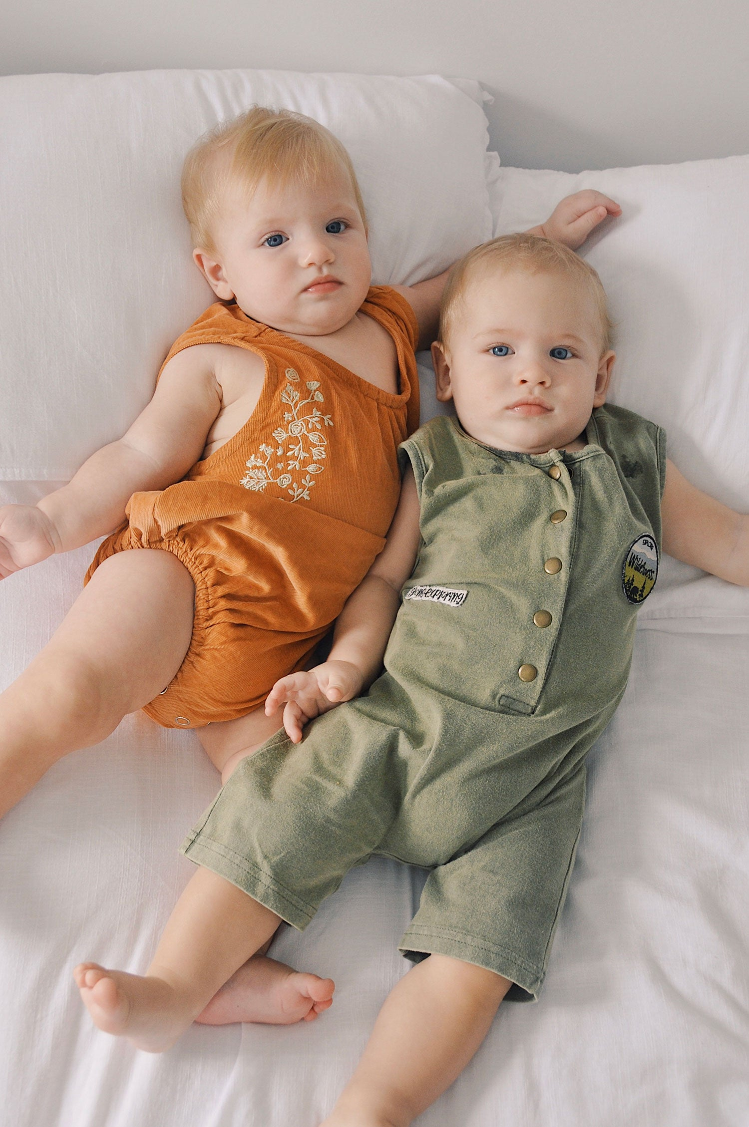 Babies Gigi and Jett