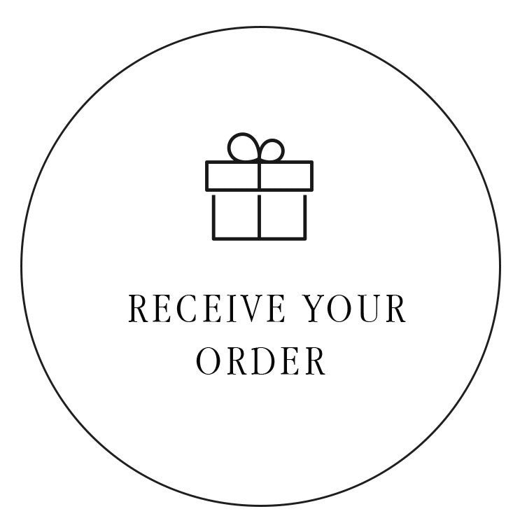 Receive your order