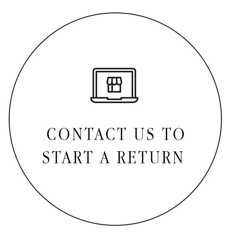Contact Us to start a return