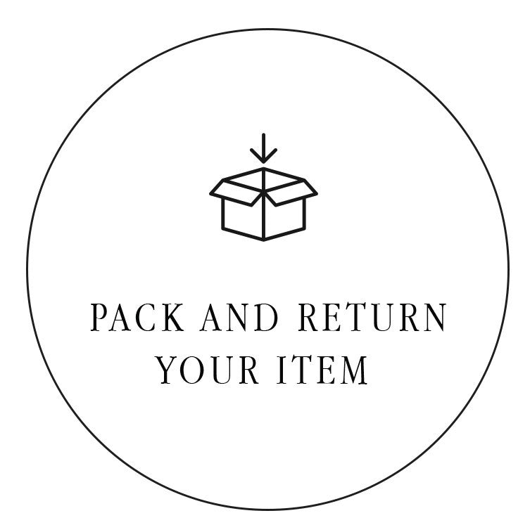 Pack and Return item