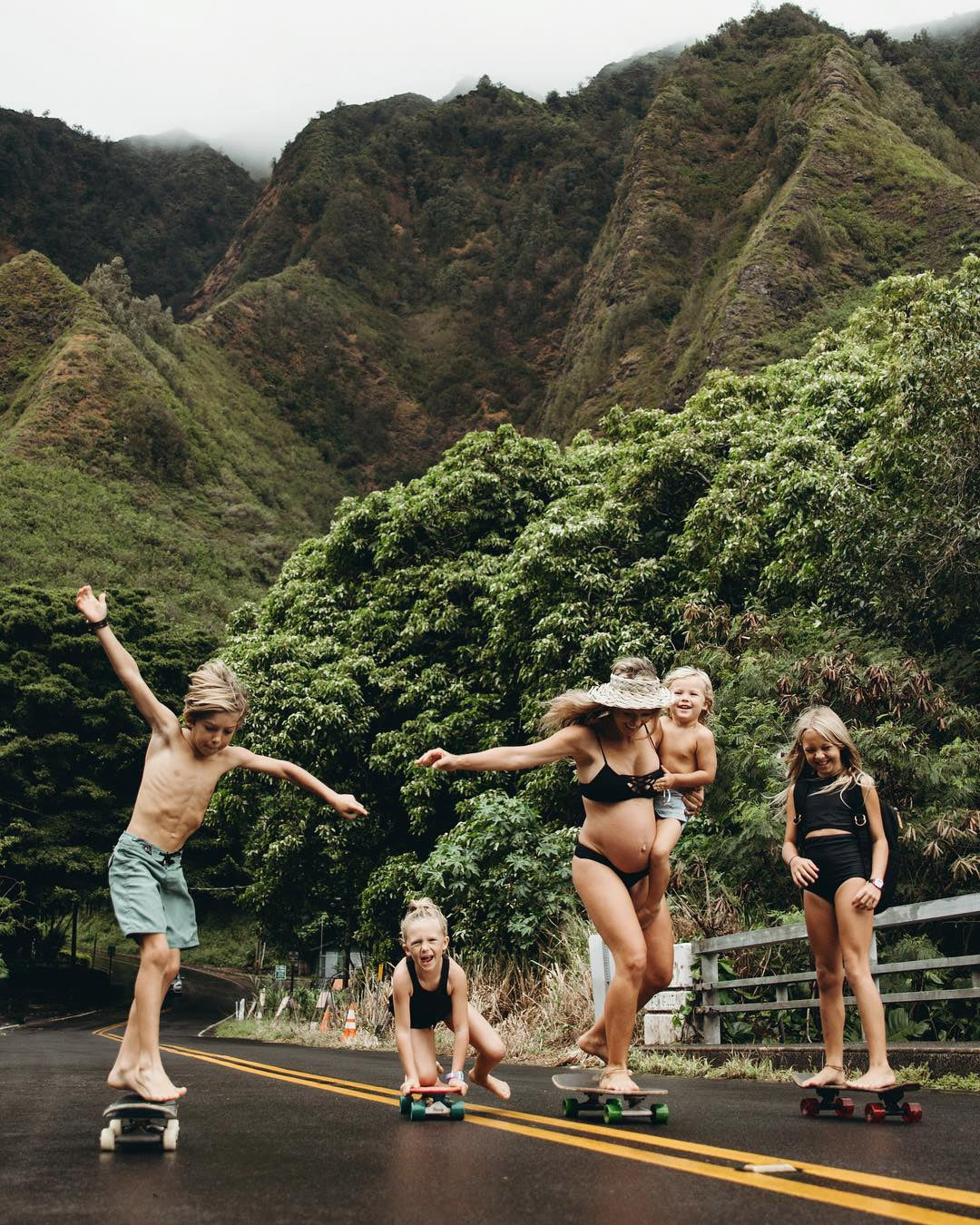 Chelsea Jean and Family in Hawaii