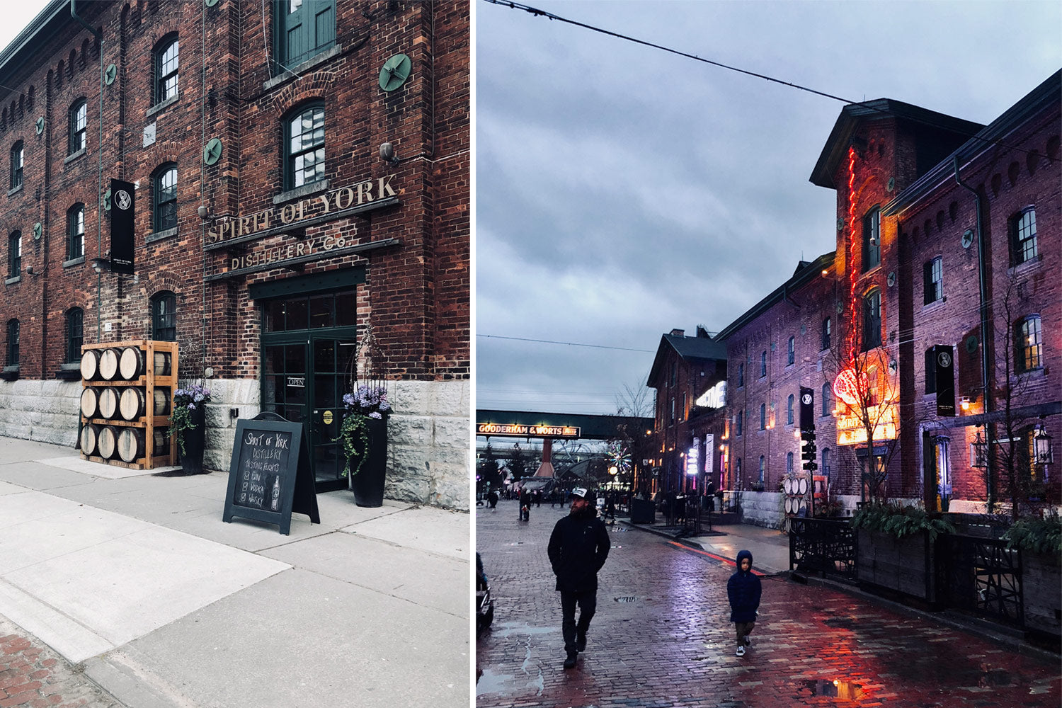Toronto - distillery district