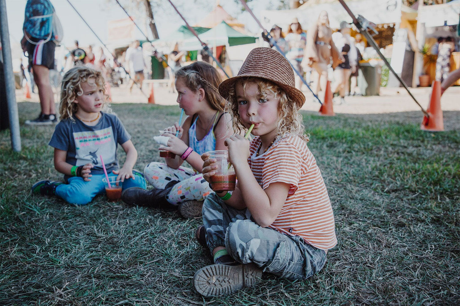 Kids at Splendour