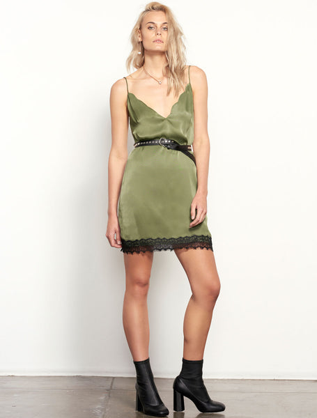 SIDEWAYS CAMI DRESS
