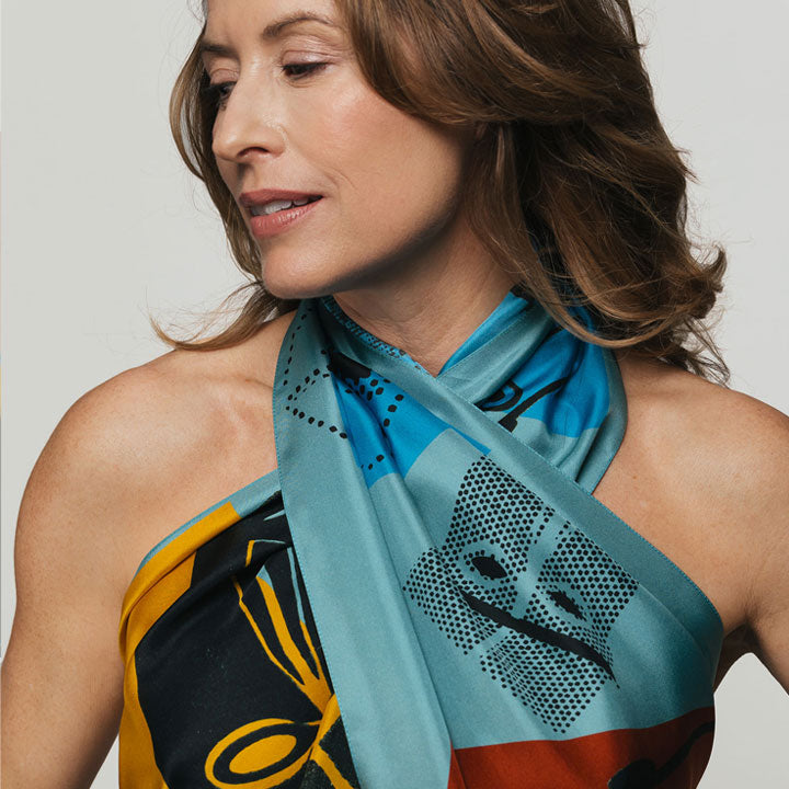 5 Top Tips for Styling Silk Scarves