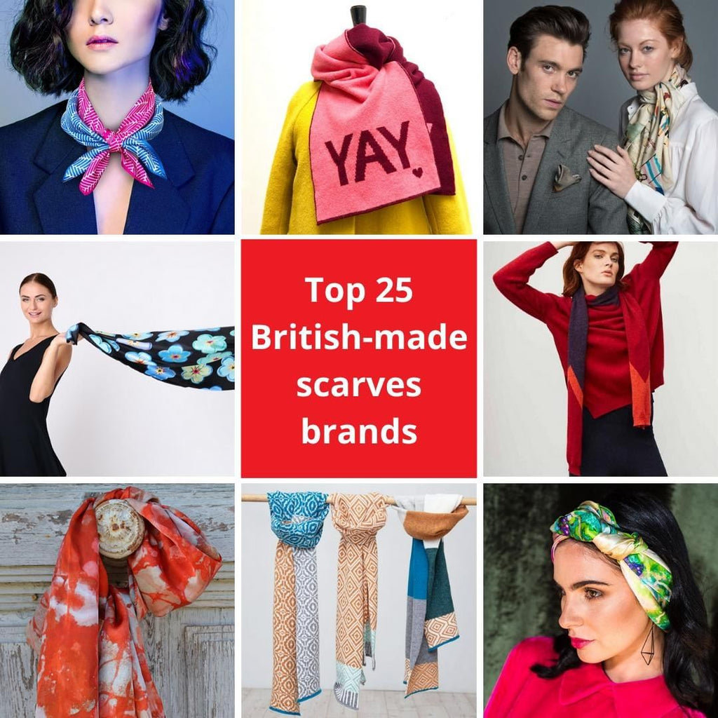 Top 25 British-Made Scarf Brands