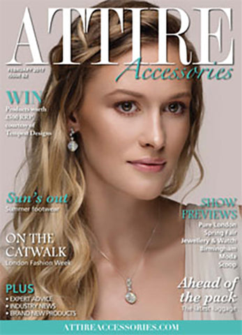 Attire Magazine cover