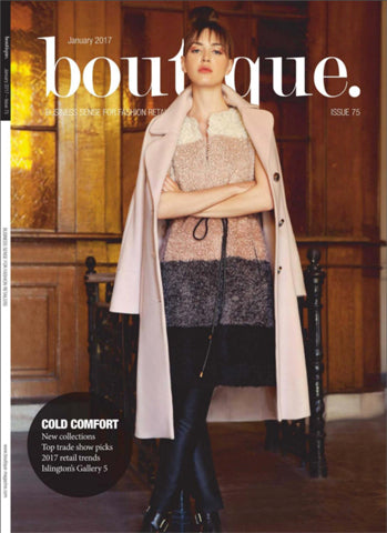 Boutique magazine cover
