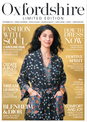 Bianca Elgar featured in Oxfordshire Limited Edition September 2019