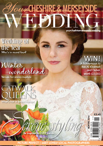 Your Cheshire & Merseyside  Wedding Magazine cover