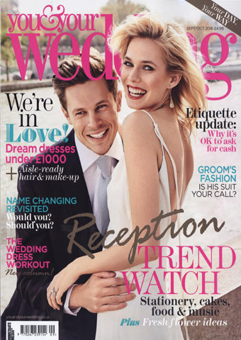 You and your wedding magazine cover