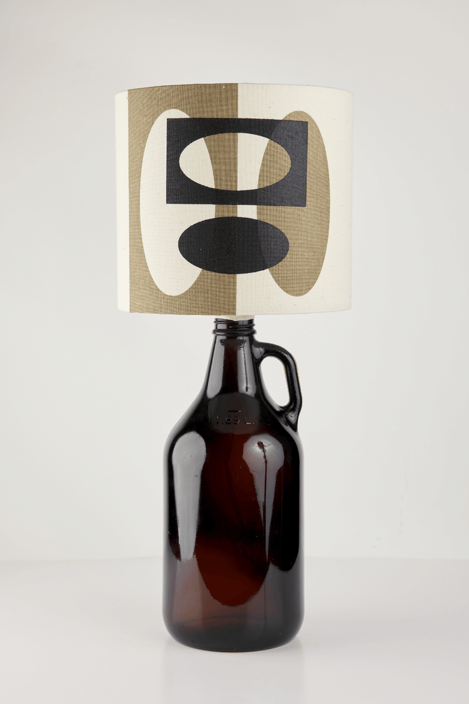 Bronze and Black Bottle Lampshade | 18cm High 4