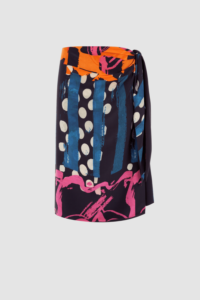 Sarong Skirt Multicolour Product Front
