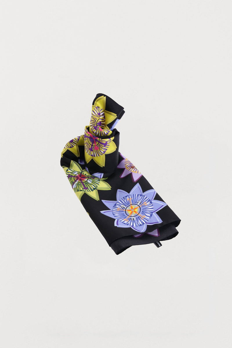 Passion Floral Silk Scarf - Large - Bianca Elgar