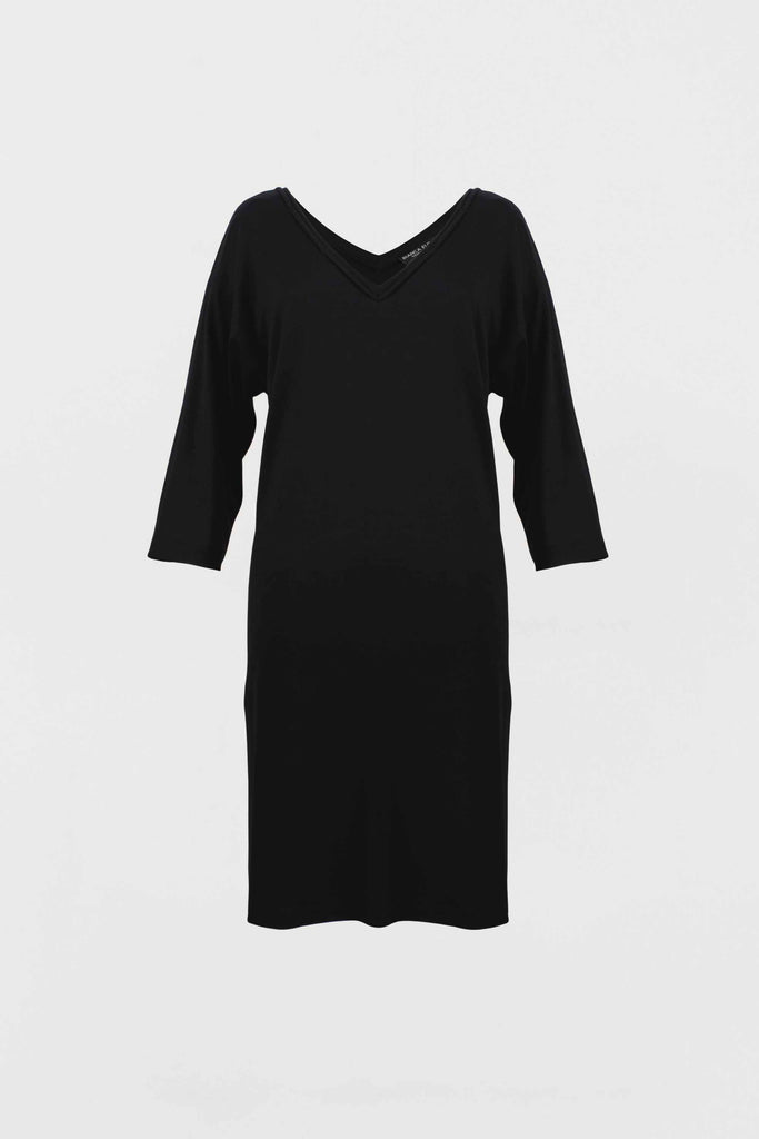 The Ava - Black Tunic Dress - Bianca Elgar