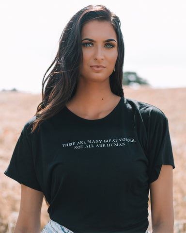 'There Are Many Great Voices, Not All Are Human' Cropped Boxy T-Shirt - Lonely Closet