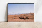 'Camels in the Agafay Desert' Fine Art Print - Lonely Closet