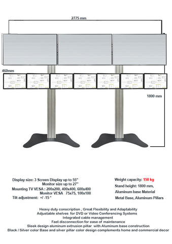 Modular TV & Monitor Display stands 2  - 1