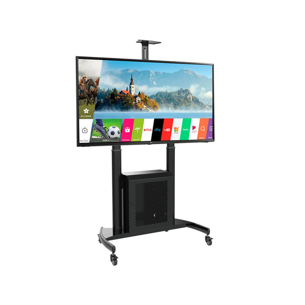 Steel Height-Adjustable TV Carts (TMC-L)