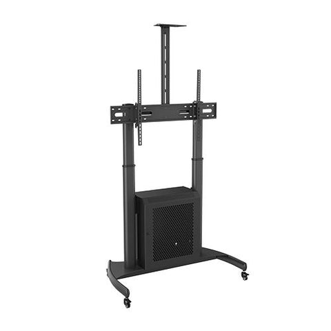 Steel Height-Adjustable TV Carts